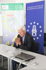 ... von Prof. Reinhard Rack. © Europe Direct Steiermark / js (alle Fotos)